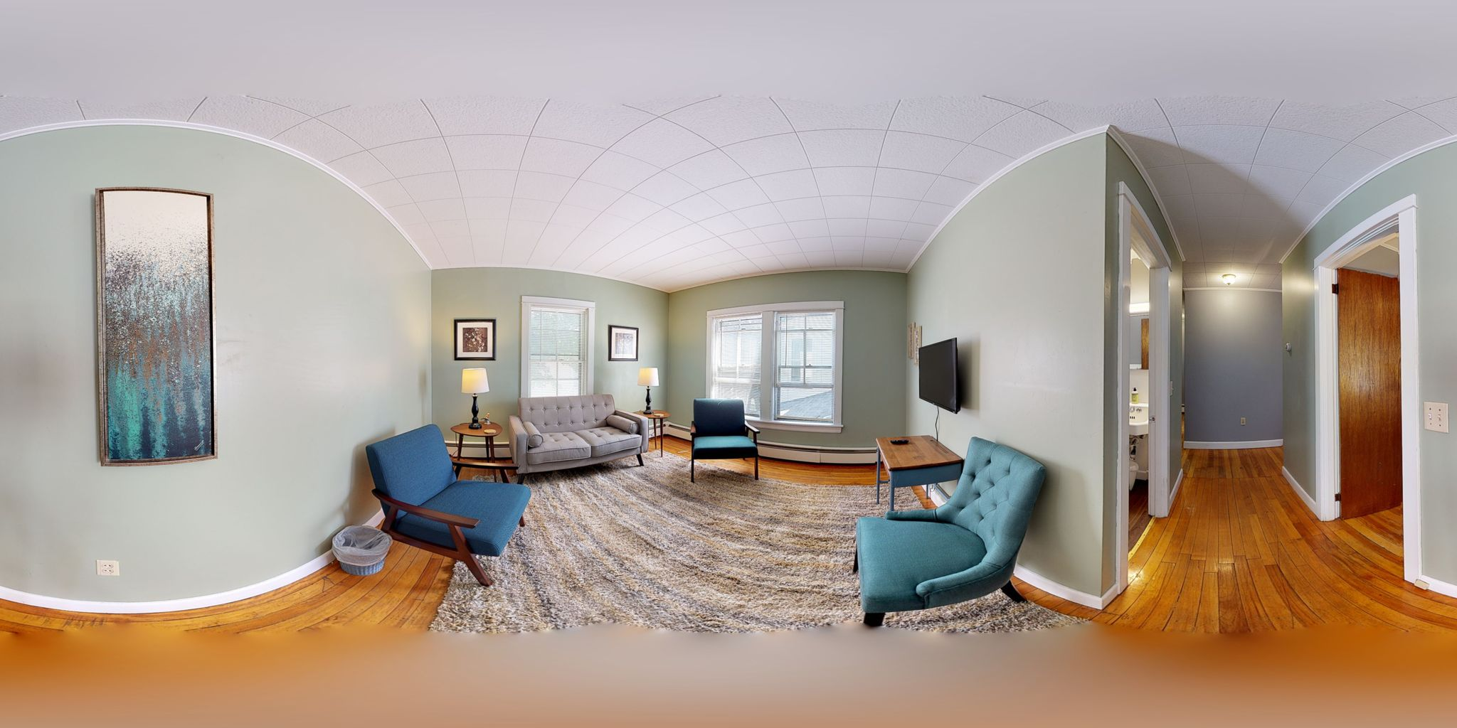Get an immersive, 360-degree view of the layout and features of this property.